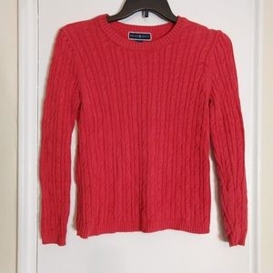 Coral Crew Neck Sweater